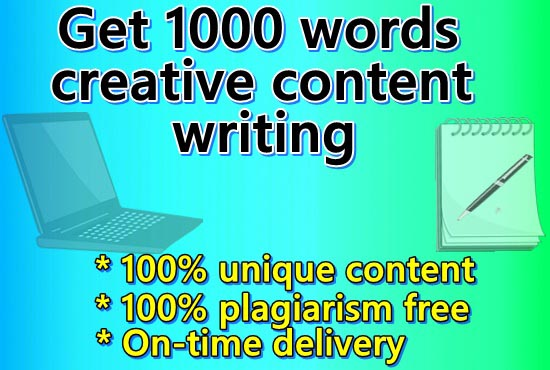 I will provide 1000 words unique content writing for your website or blog