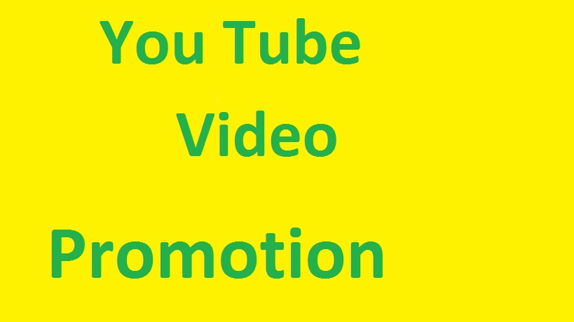 I will give you YouTube Promotion and social marketing