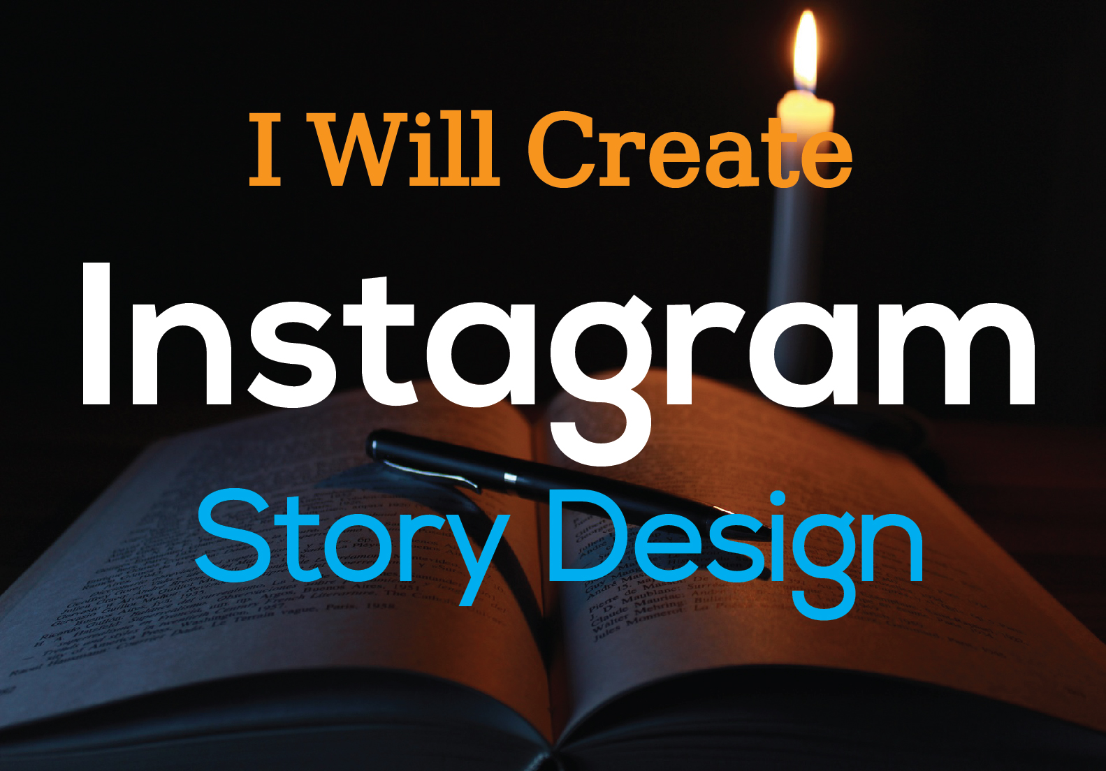 I will design professional instagram post and story template