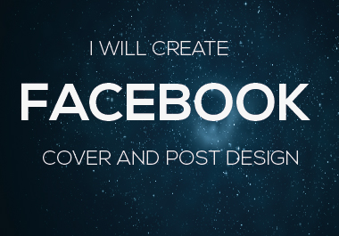 I Will Create Facebook Cover And Post Design