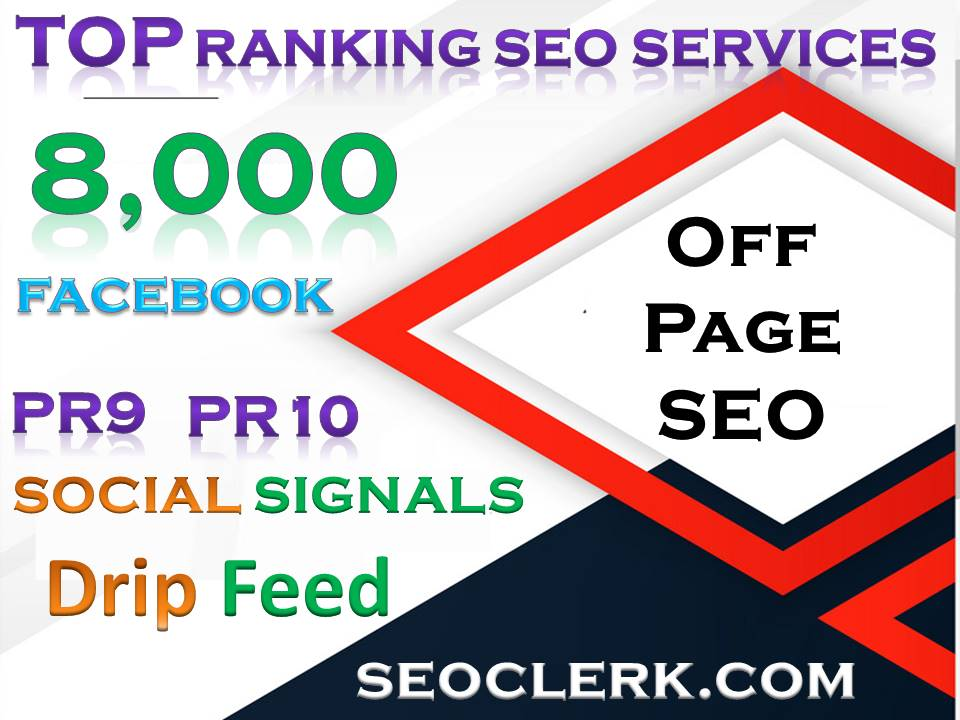 8,000 webshare PR10 Social Signals Share for SEO Google Ranking Help To Increase Website Traffic