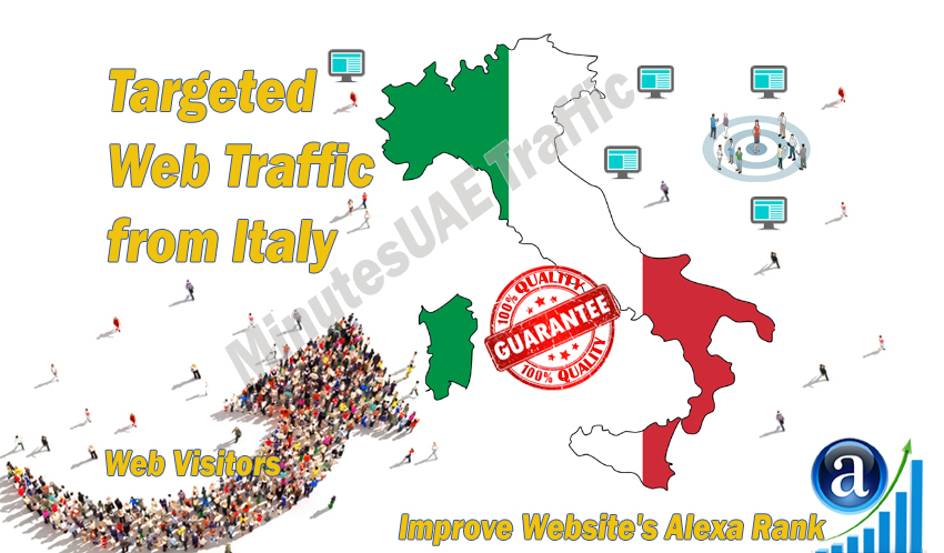 5000 ItalyTARGETED high web traffic