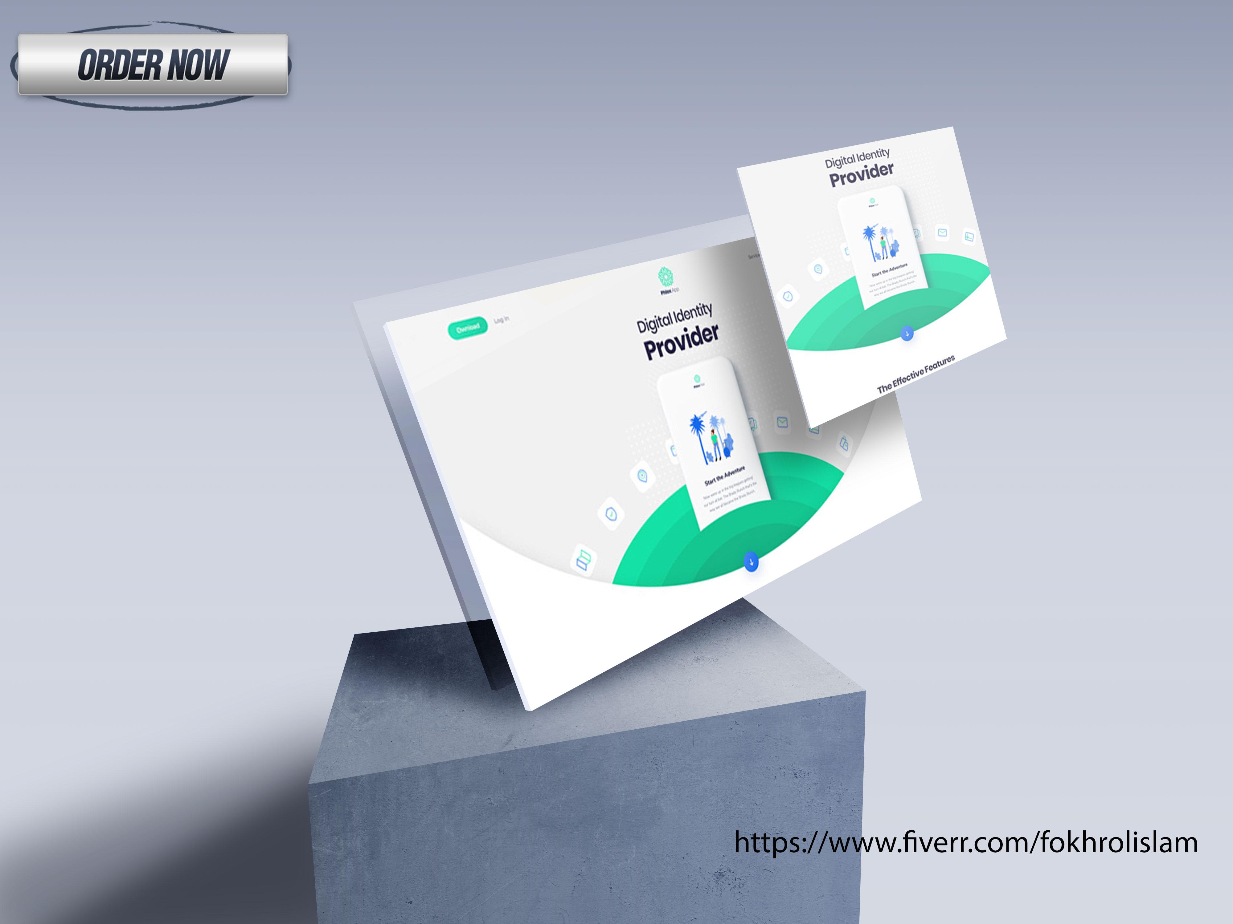 I will create a responsive SEO business wordpress website design