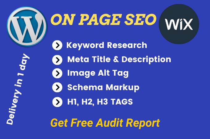 Write seo meta tags,  meta title,  meta description,  image alt tag,  H1 heading