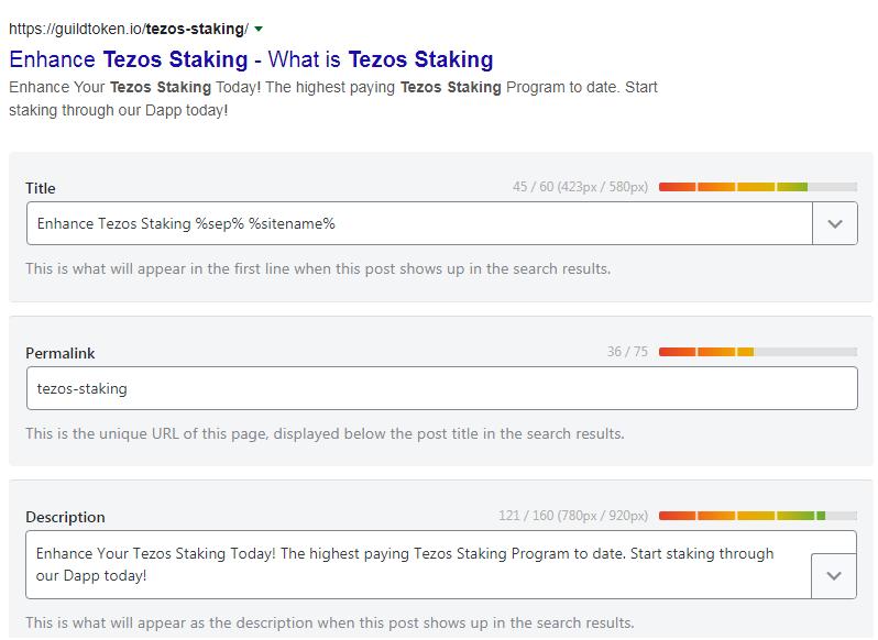 5 pages onpage SEO wordpress website ranking using yoast seo plugin