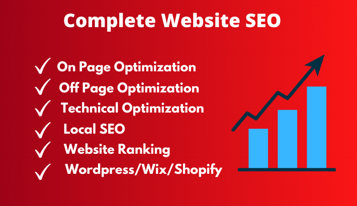 I'll do monthly SEO (on page seo, off page seo, technical optimization)