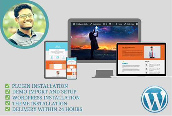 I will create business professional WordPress website design