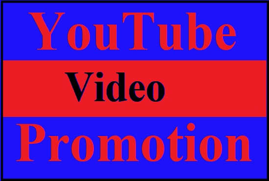 Start HQ youtube Promotion and marketing with active audience