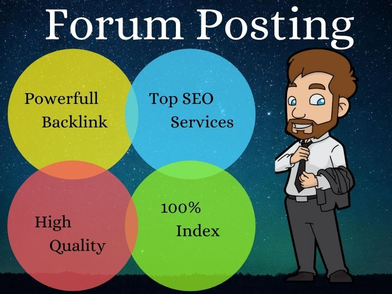 I Will Provide Manually 15 Forum Posting SEO Backlinks Help Rank Your Website On Google