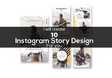 I will create Instagram Post and Story design for you