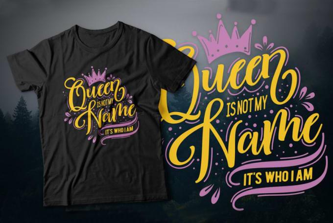 I will create attractive graphic t shirt design