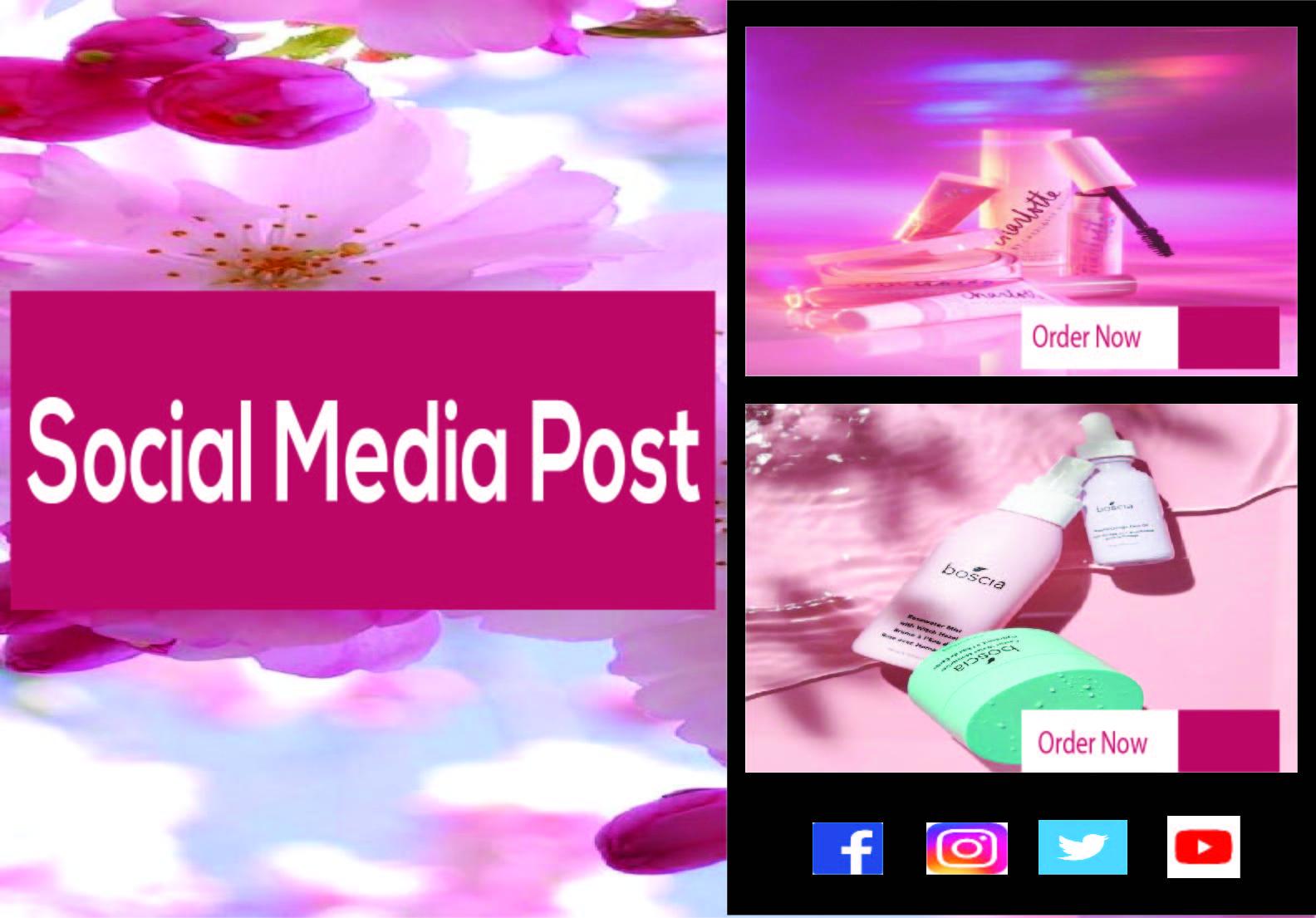 I want to design Instagram post,  Instagram Story,  Social Media Ads for you