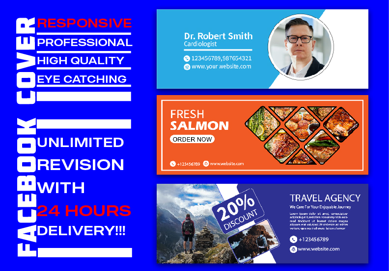 I wanna design professional and responsive facebook cover for you.