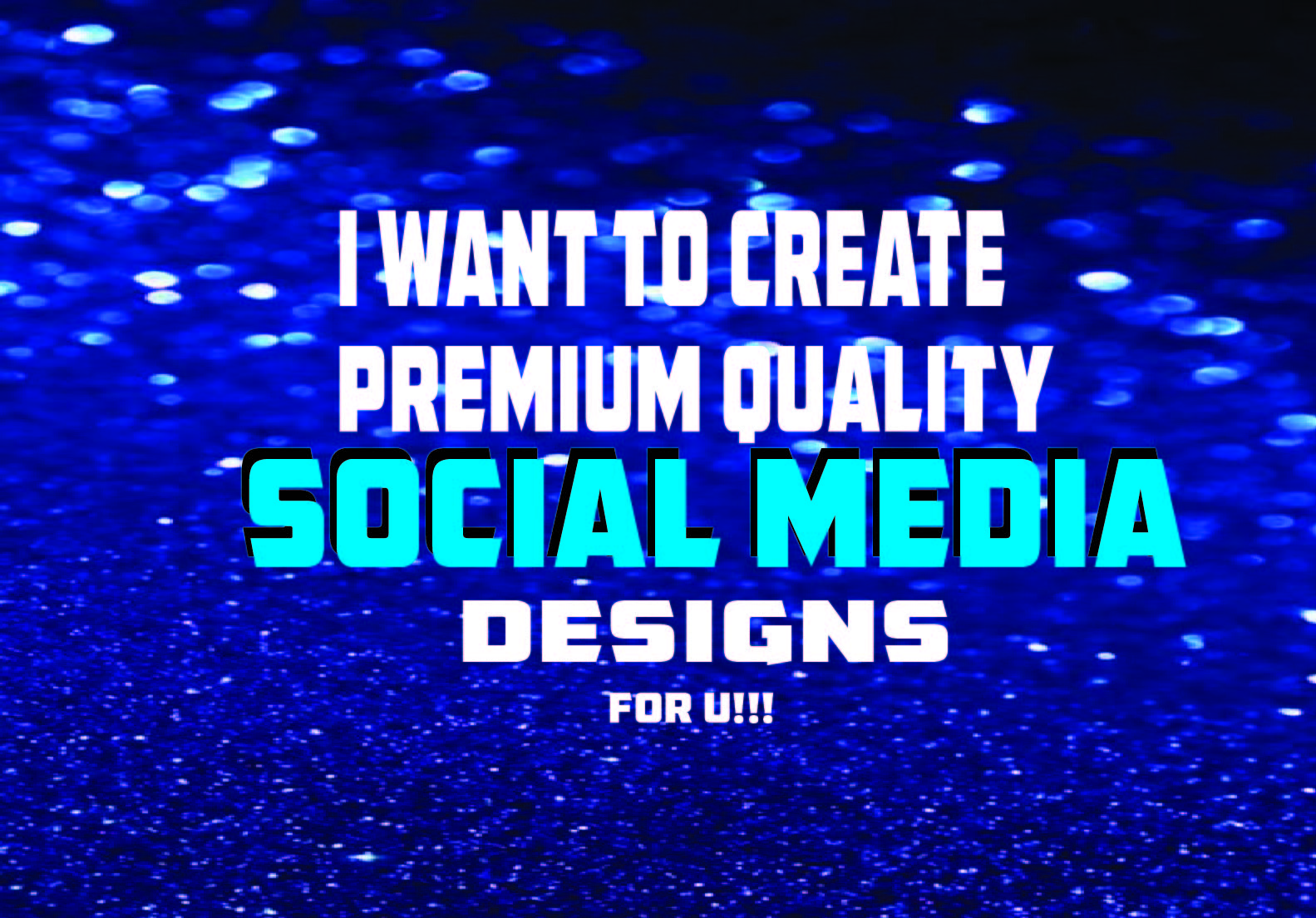 I want to design facebook ad,  Instagram post design,  Social Media Design for you