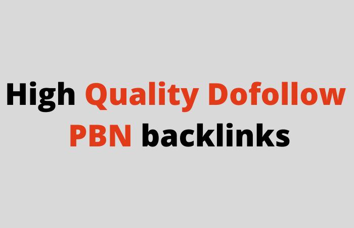 I will build 50 Do follow PBN homepage high quality backlinks