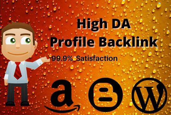 I will do 100 High DA and PR profile Back-links manually for SEO ranking