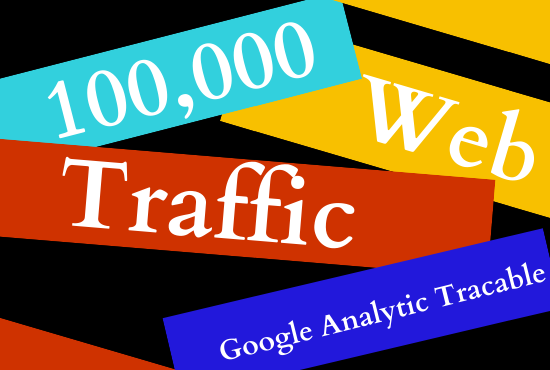 I will give you 100,000 niche targeted organic traffic for 10 days
