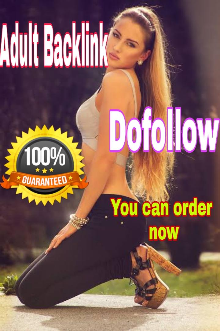 18+ adult Website HQ 700+ dofollow backlink index on Google