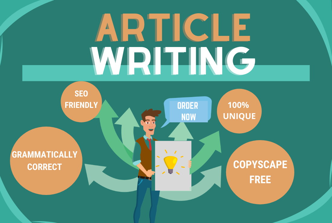 I Will Provide Any Type Of 500-700 Words SEO Friendly Article With Quality Assurance