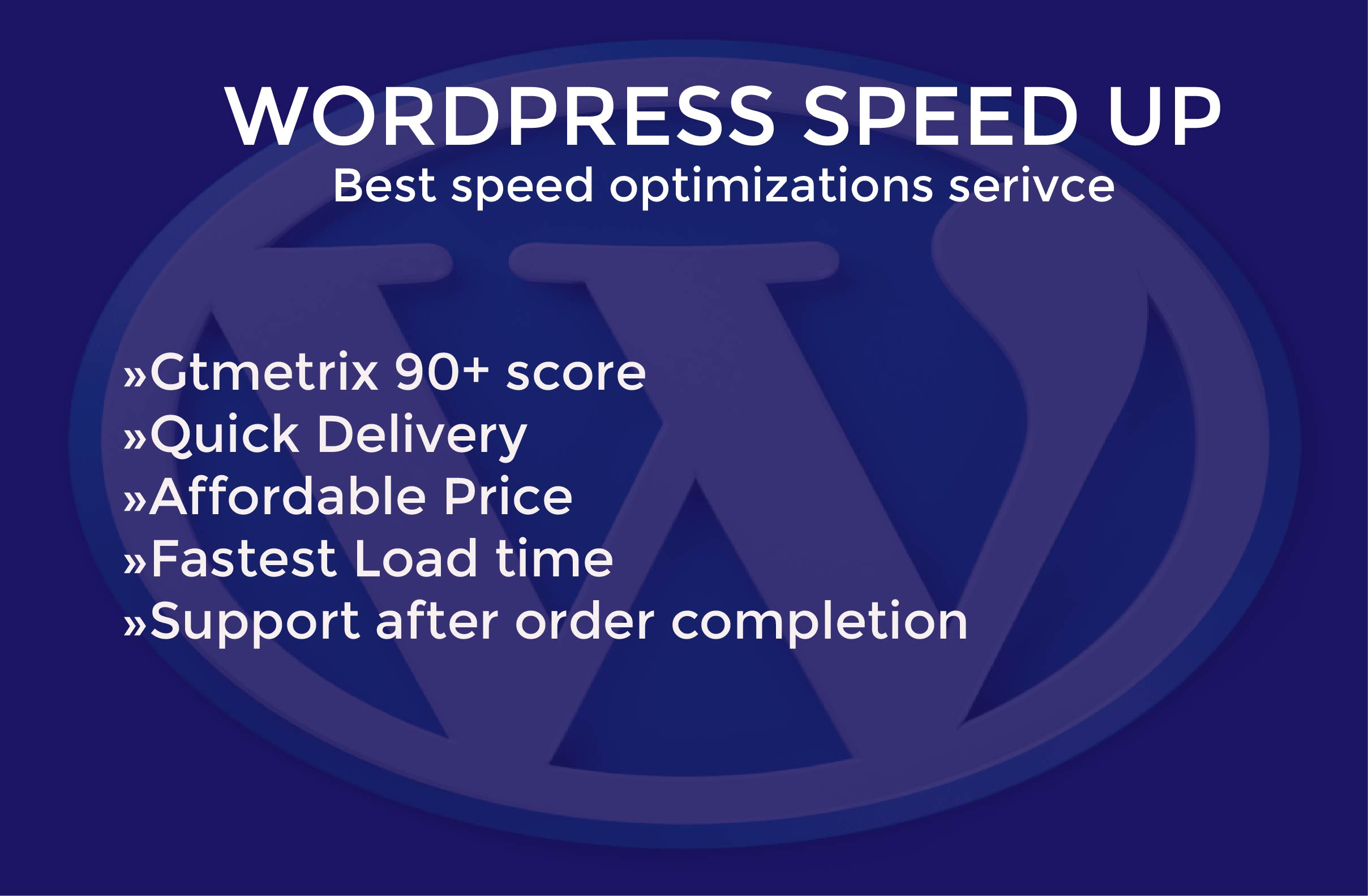 I will speed up wordpress website and resize image optimization