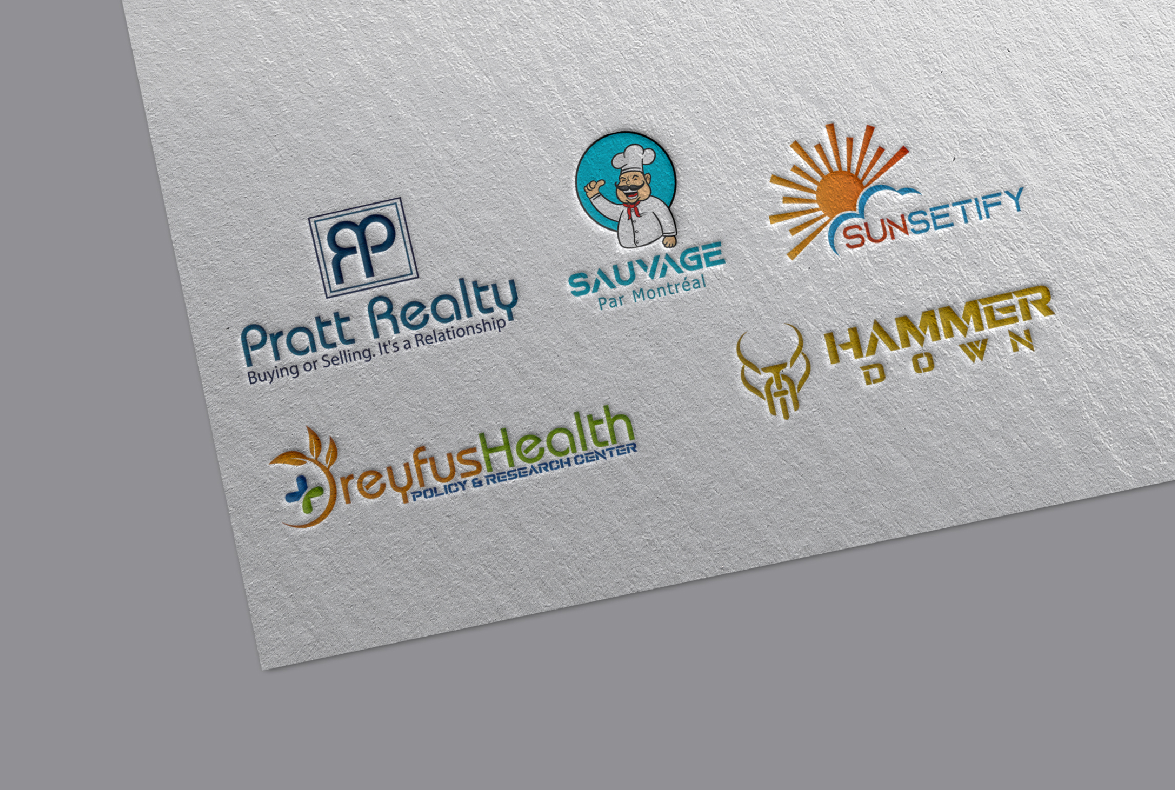 I will do your Brand Logo Design
