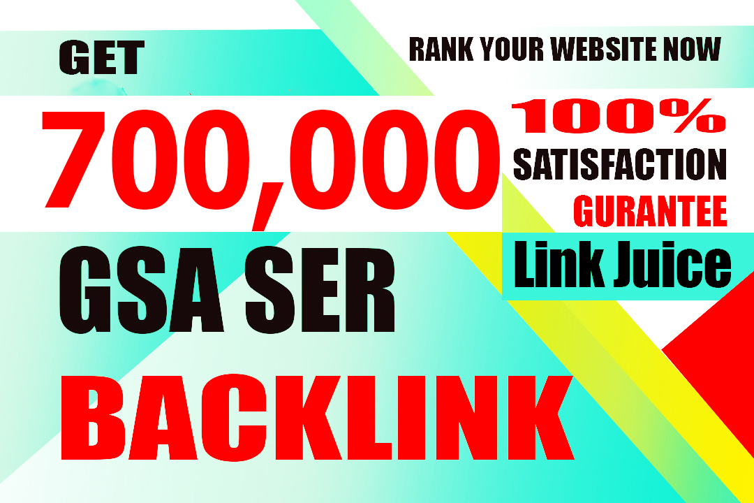 I will create 7000,000 high quality gsa backlinks for faster link juice blaster google inddex