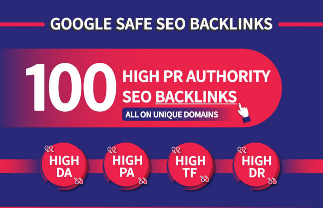 i can Build 100+ Backlink,  web 2.0 and Dofollow with high DA/PA in your webpage with unique website