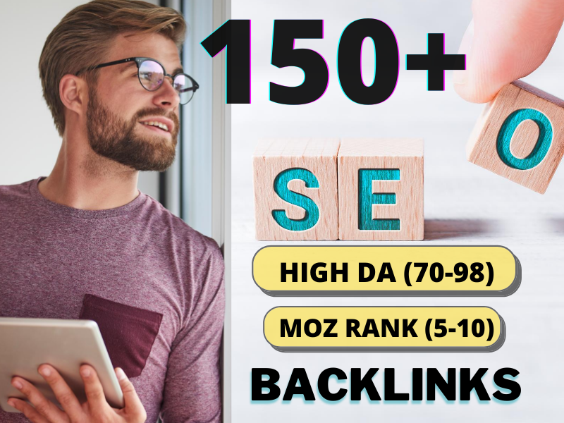 I Will Create 150+ Mixed Pr9 Authority Backlinks Exclusively MANUAL & Safe SEO