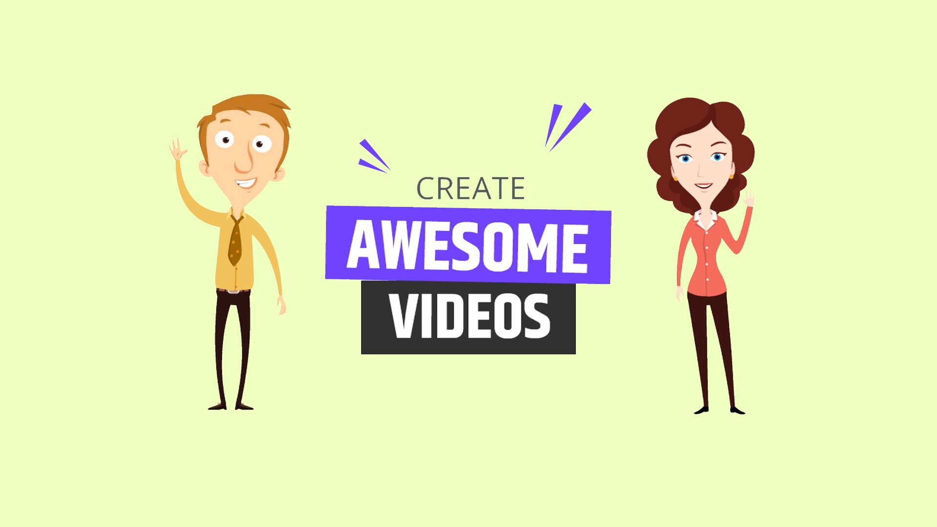 I will make animated videos professionally. I will do that within 2 days