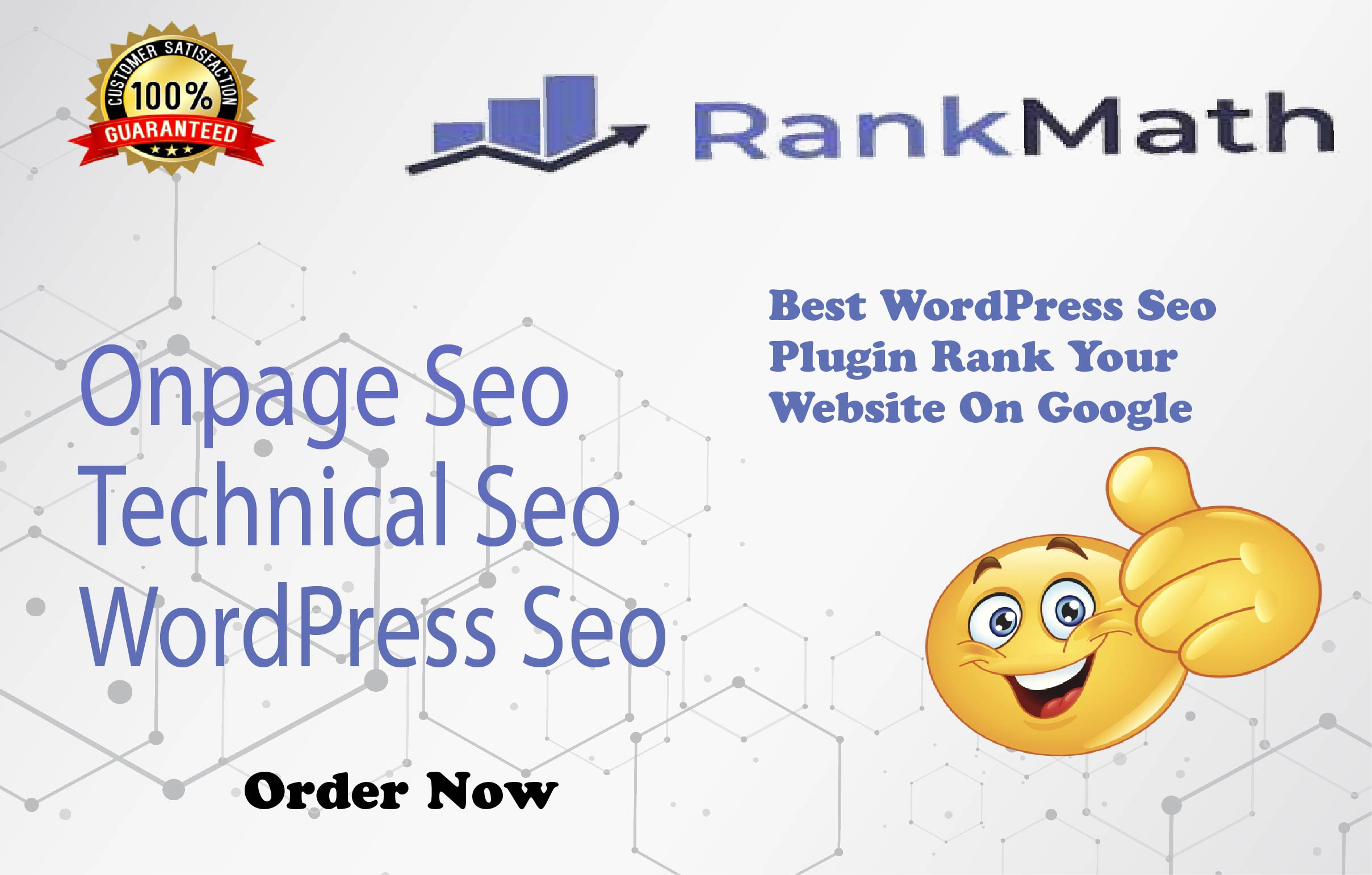 I will do complete wordpress on page SEO with rank math