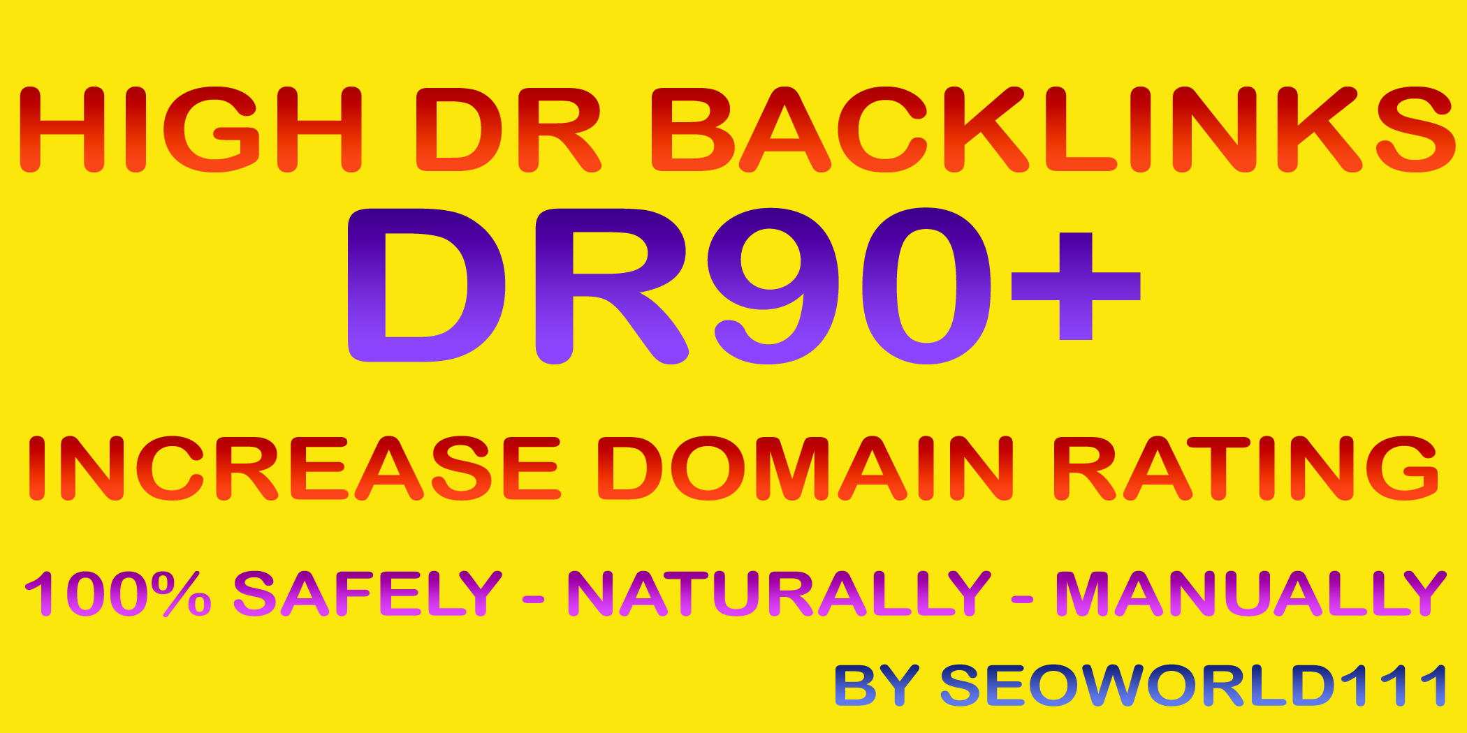 25 DR90+ High DR Backlinks to Increase Domain Rating