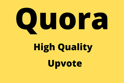 Get 20+ High Quality worldwide Quora Upvotes from USA