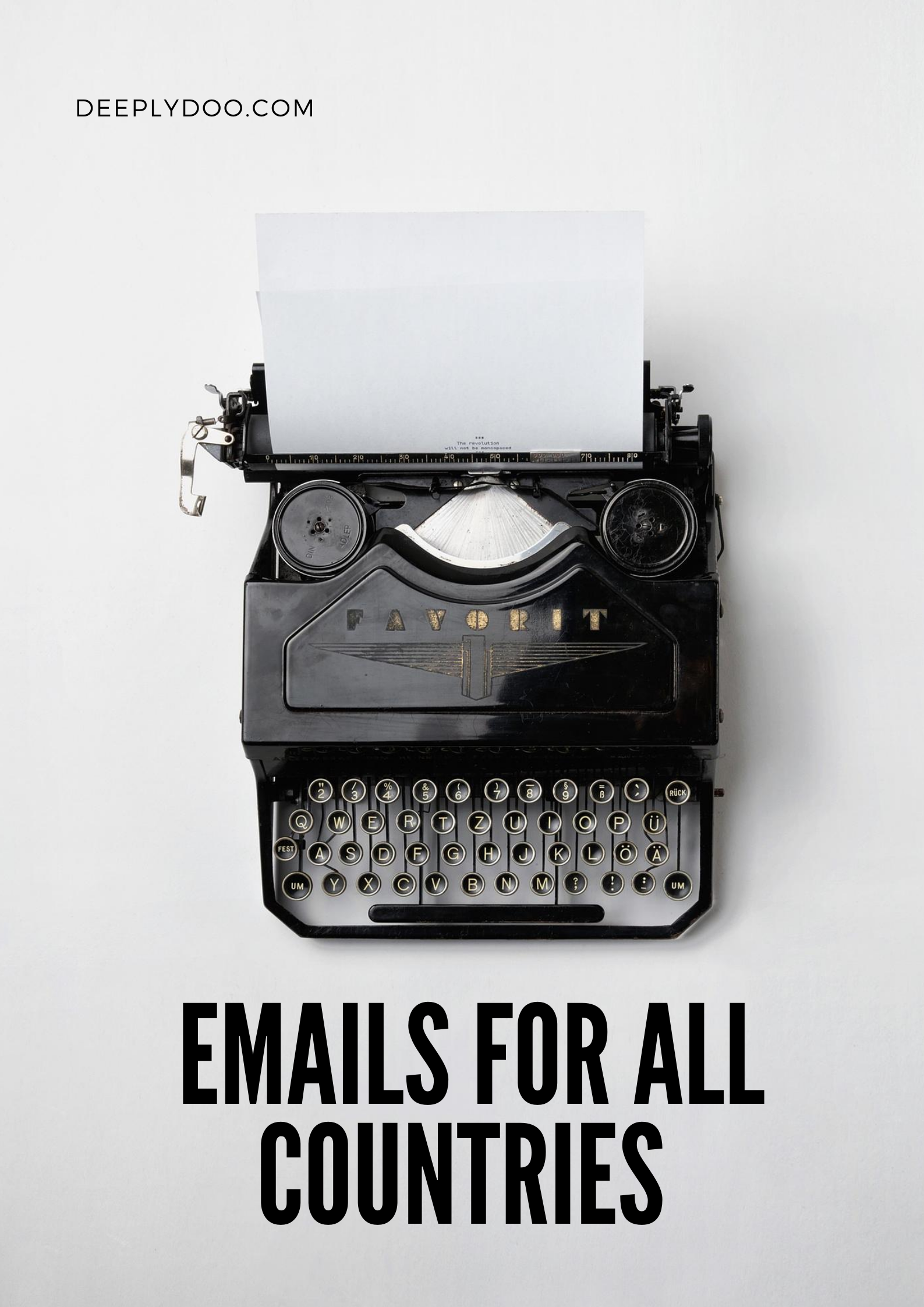 I will provide 10 000-100 000 emails the same day you order-fresh and verified,  from any country