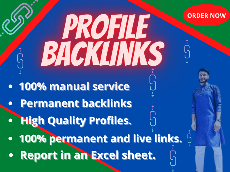I Will Do 60 High Authority Profile Backlinks DA 95 Plus For Elevate Your Ranking