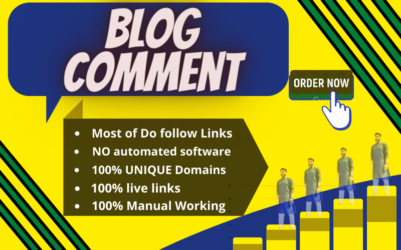 I Will Create 60 Niches Relevant Blog Comments