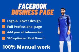 I will create a FB business page