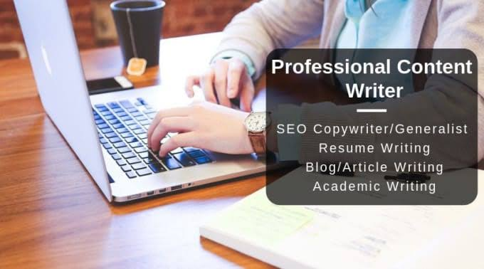 I will write 1000 word articles and blog posts