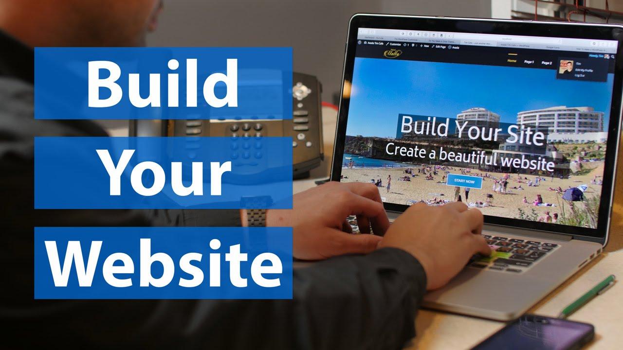 I will build wordpress website and do website design