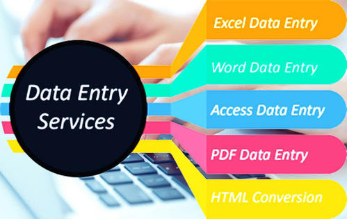 I will do any type of data entry and typing work