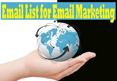 2000 USA Niche targeted verified Email List for Email Marketing