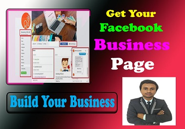 I will create,  set up and manage your facebook business page