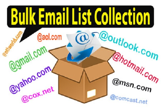 I will collect 2k bulk email list for your business