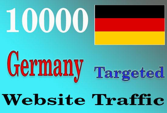 10000 Germany Targeted Website Traffic