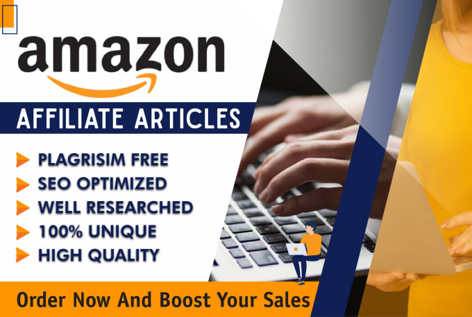 I will write amazon affiliate articles with perfect SEO