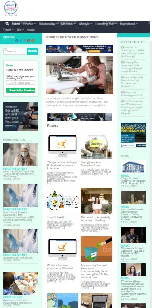 I will create autopilot news website for passive income