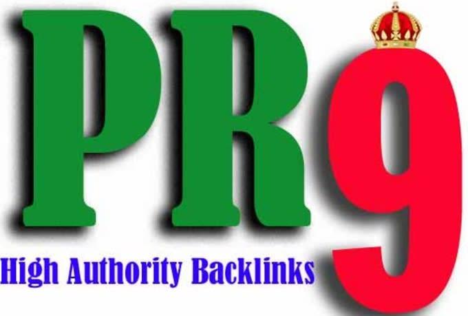 I will do 100 pr7 to pr9 seo links for 2020 google rankings