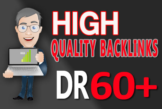I will do dr 50 to 60 homepage backlinks for off page seo