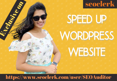 I will do speed up wordpress website speed in 24 hours