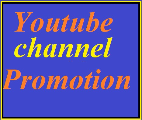 I will do youtube promotion via sharing