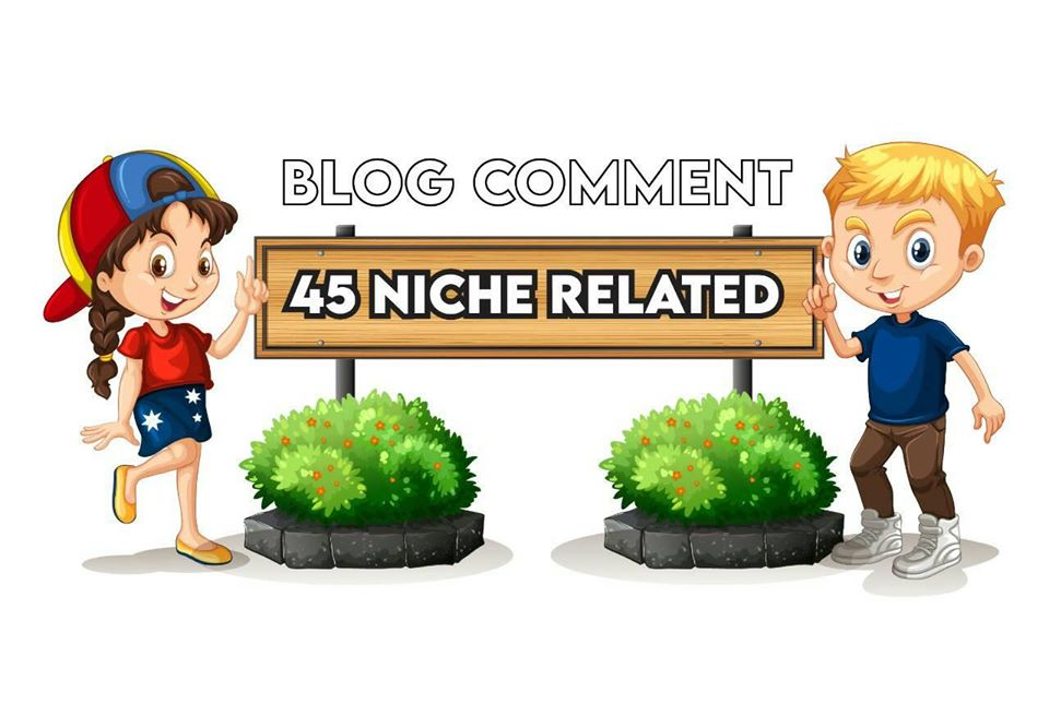 I will do 45 niche relevant nofollow blog comments backlinks